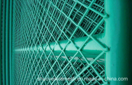 Galvanized Steel Welded Wire Mesh Panel for Fence pictures & photos