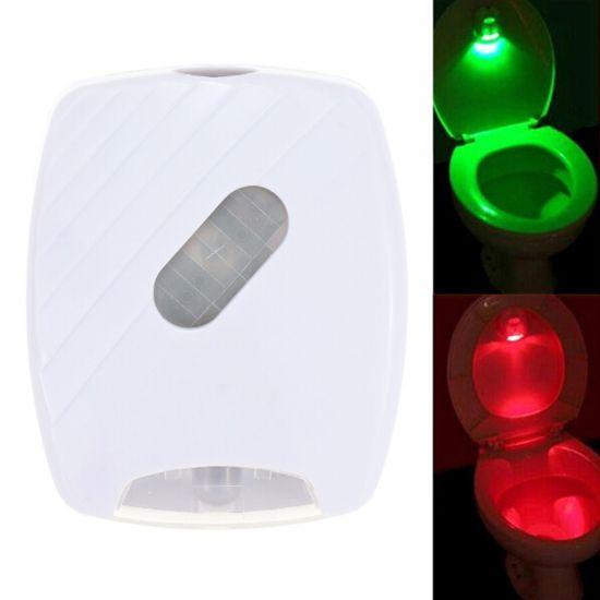 LED Sensor Motion Activated Toilet Light Automatic Night Light