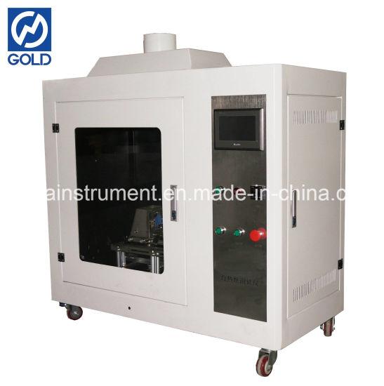 IEC 60695-2-10 Glow Fire Tester / Flammability Performance Testing Equipment