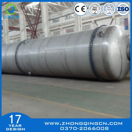China Zq-8 Waste Tyre Pyrolysis Machine with Ce, ISO, SGS