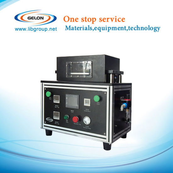Compact Vacuum De-Gassing Sealing Machine for Lithium Ion Battery Pouch Cell Gn-Vpm200