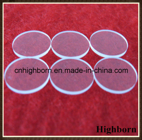 Clear Polishing Circular Quartz Glass Sheet Disc pictures & photos