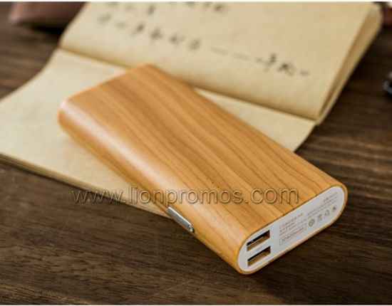 Eco Friendly Green Gifts Wood Bamboo Power Bank