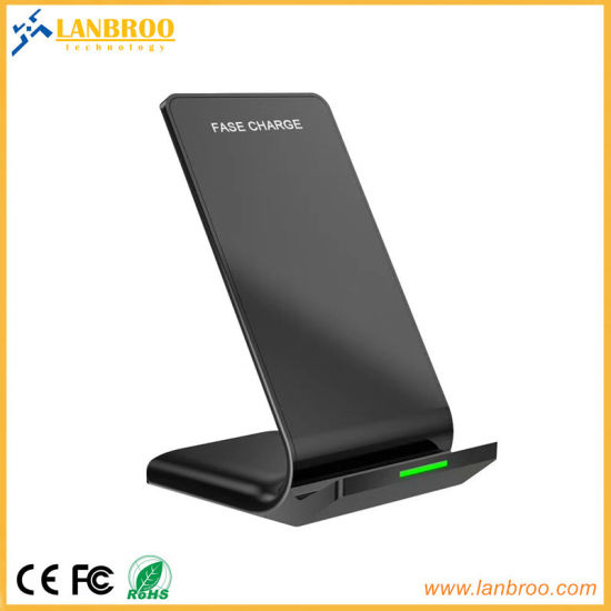 [Hot Item] China Factory Quick Wireless Charger for Mobile Phones Ce, FCC, RoHS Approved