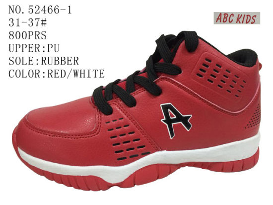 Kid Shoes Boy Basketball Stock Shoes Sport Shoes