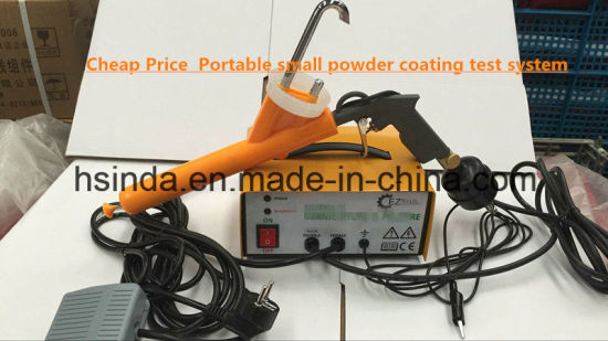 Cheap Portable Small Powder Coating Test System Gun pictures & photos