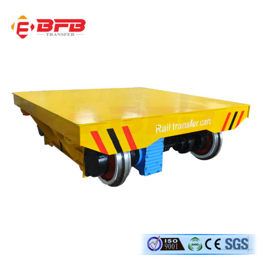 KPT-10 Electric Rail Flat Wagon with Mobile Cable pictures & photos