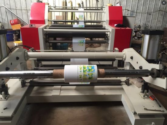 Plastic Film & Tape& Aluminum & Paper Foil Rewinding Slitting Machine