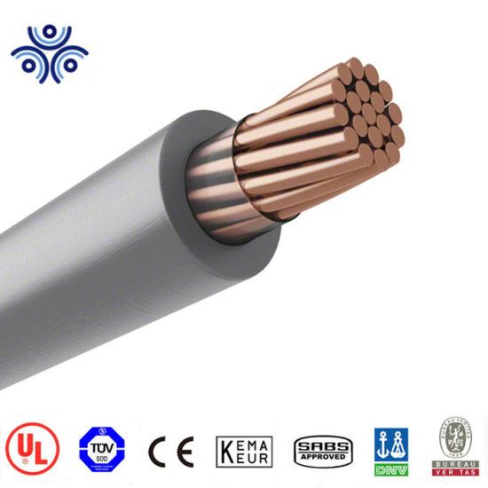 500/' 4 AWG Aluminum XLP USE-2 RHH RHW-2 Wire Black 600V