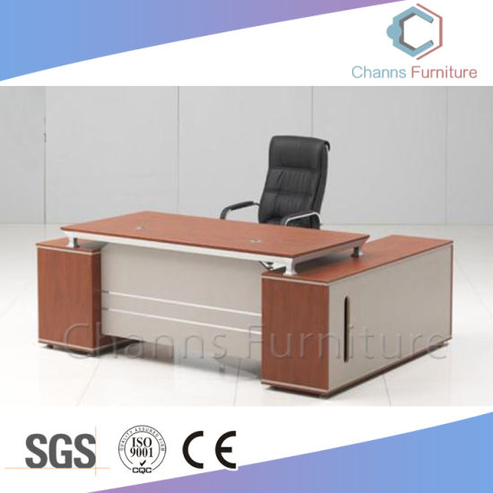 China Furniture Aluminum Office Furniture Executive Desk (CAS MD1889)
