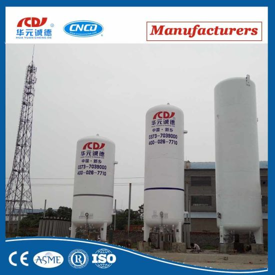 Food Grade Cryogenic Liquid CO2 Storage Tank pictures & photos