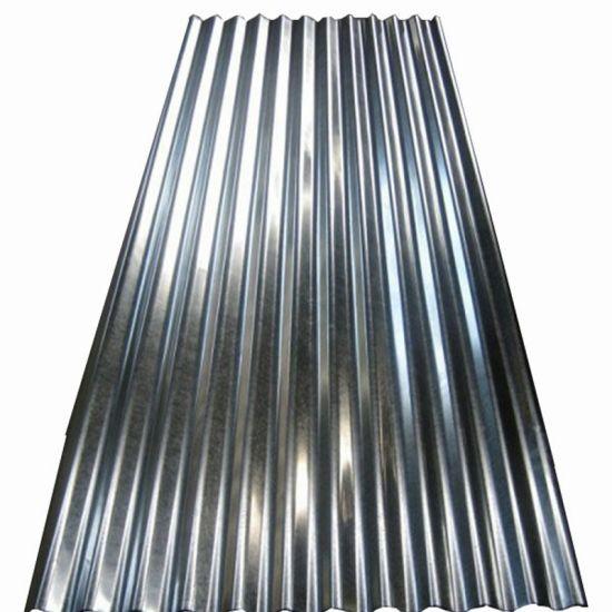 Building Material Az150g Alu-Zinc Coated Corrugated Steel Roofing Sheet