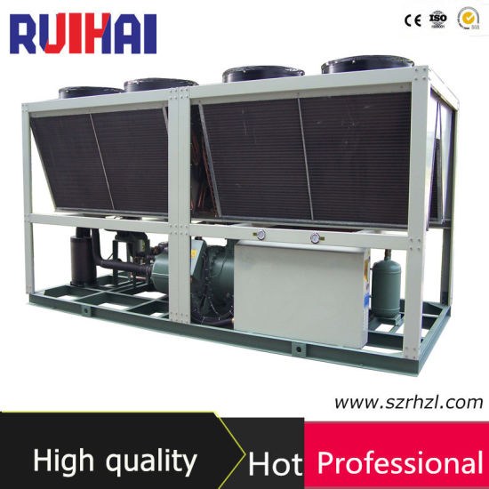 160HP Air Screw Type Concrete Mixing Station Water Chiller Directly From Manufacturer