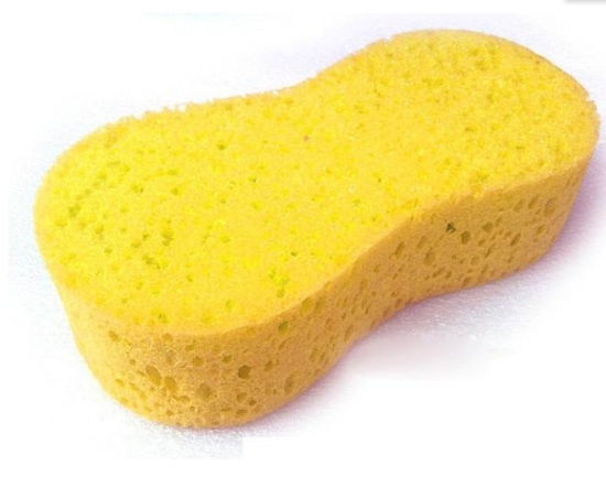 Yellow Color Car Washing Sponge, High Quality,