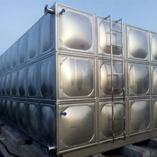 Assembling Stainless Steel Square Water Tank
