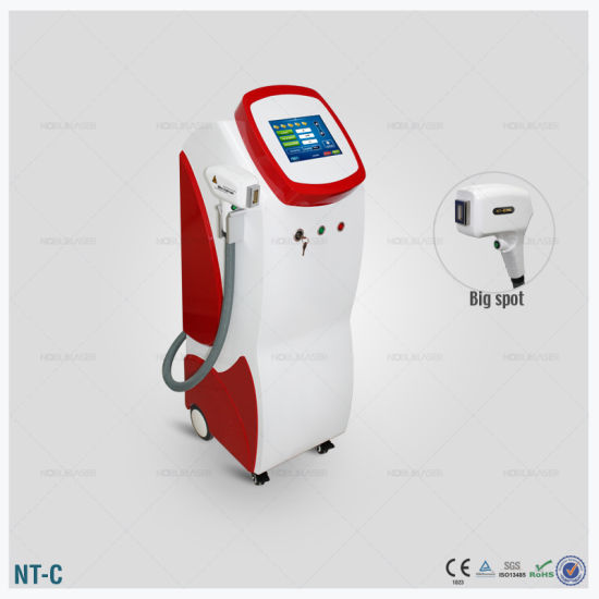 Medical Equipment Vertical Noblelaser Medical of Diode Laser for Bikini Hair Removal pictures & photos