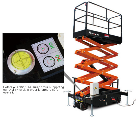 Mobile Scissor Aerial Work Platforms (upgraded) pictures & photos