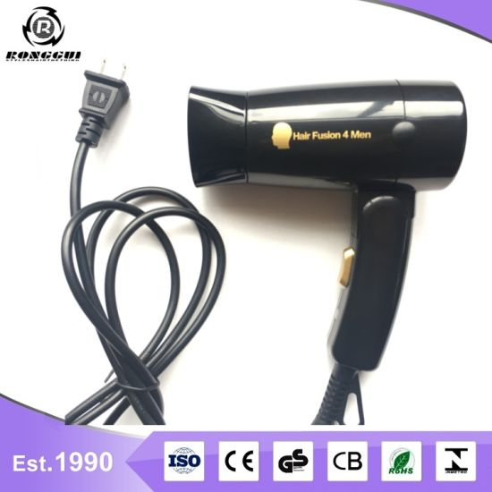 Folding Travel Hair Dryer with Nozzle