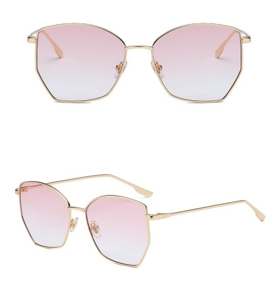 c764278a9f29 New Style Fashionable Big Frame Sun Glasses Fashion Retro Women Sunglasses