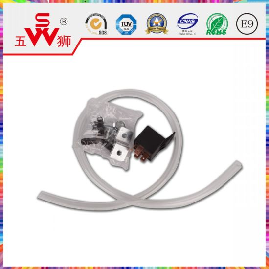 Black Closed Type Electric Horn Motor for Air Horn pictures & photos