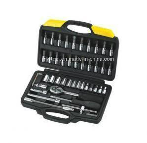 "52PCS Professional 1/4""Dr Socket Set (FY1552B) pictures & photos"