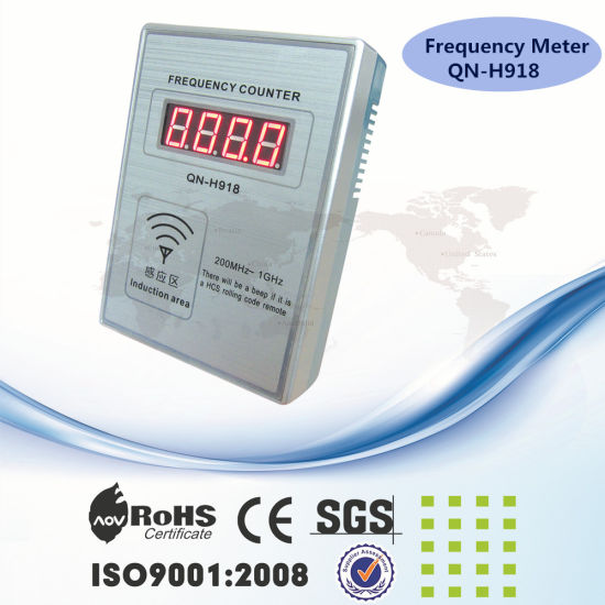 Qinuo Remote Control Frequency Meter Qn-H918 Measure Frequency 200MHz-1GHz