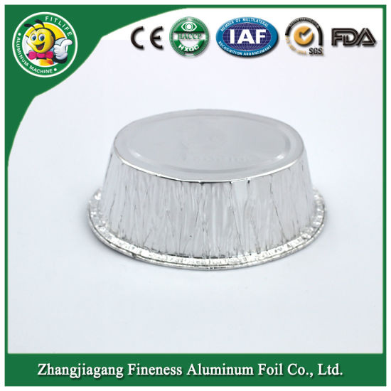 BBQ Round Blister Aluminum Foil Dish Wholesale 8011 for Food pictures & photos