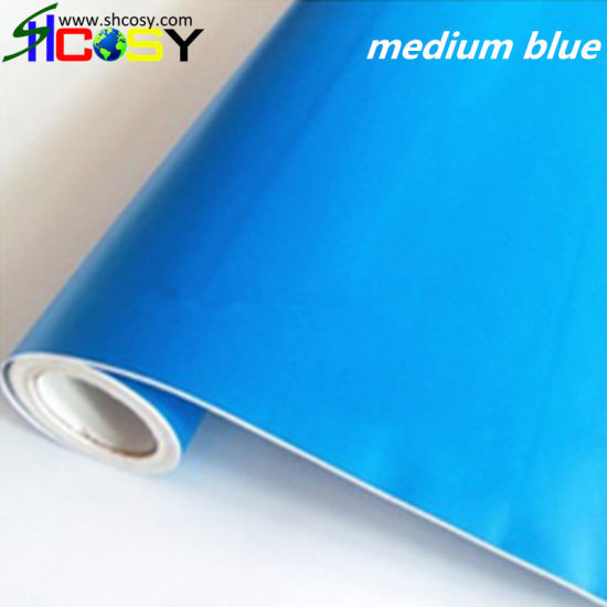 Slf Adhesive Vinyl Color Cut Vinyl with High Quality for Your Car Decoration pictures & photos