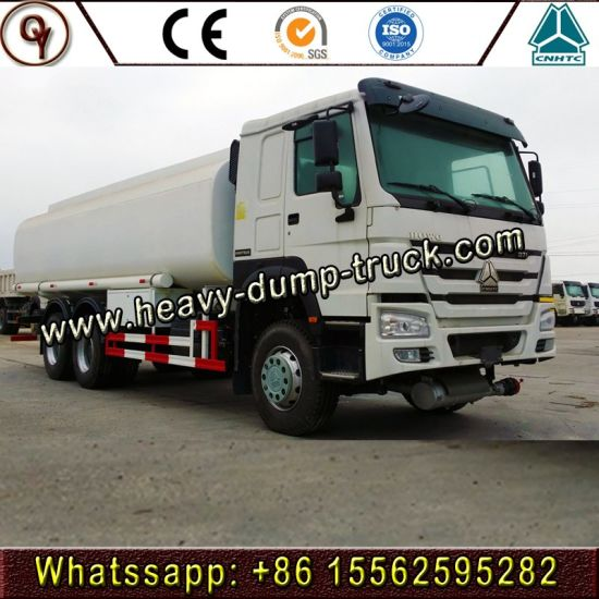 Hot Price China Manufacturer 15000-20000 Liters HOWO 6X4 Fuel Tanker Truck