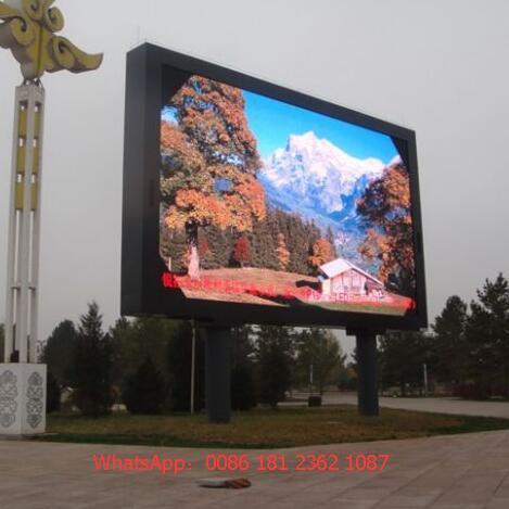 P10 Full Color Outdoor DIP Module RGB LED Display