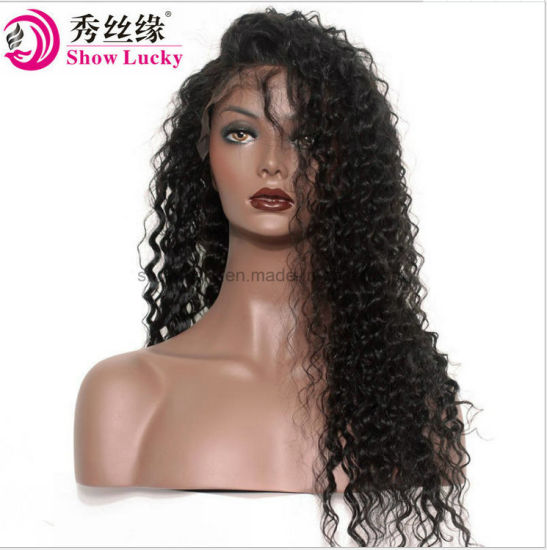 New Coming Hair Style Virgin Brazilian Human Hair Kinky Curly Full Lace Closure 360 Frontals pictures & photos