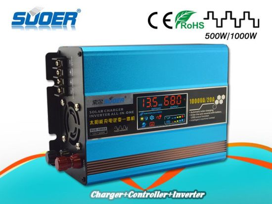 china suoer built in solar controller dc 12v 1000w power inverter rh hongfa en made in china com