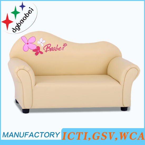 Beautiful Kids Furniture Double Leather Sofa Baby Chair Sxbb 07 03