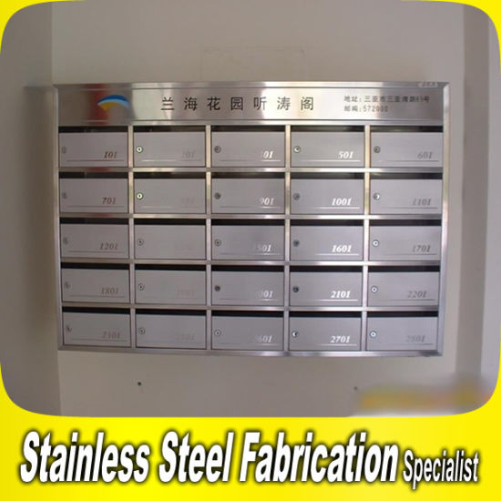China Stainless Steel Wall Mount Mailboxes for Building Apartment ...