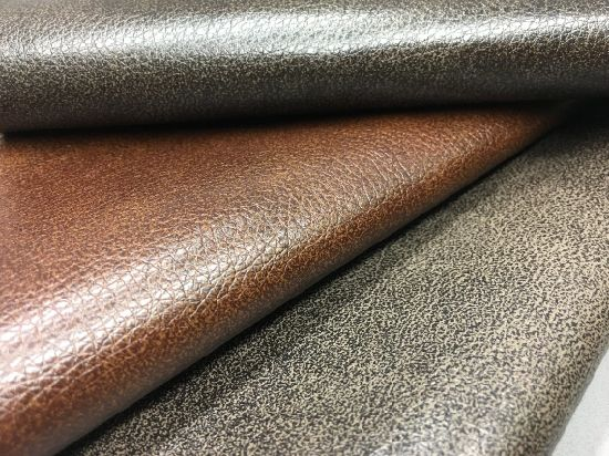 Soft High Qualtiy PU Synthetic Leather for Motion Sofa and Chair-Hlc01