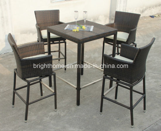 Patio Rattan Bar Stool, Bar Table pictures & photos