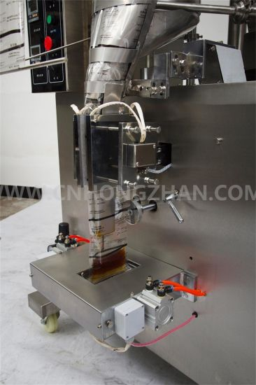 Hongzhan HP100L Automatic Liquid Packing Machine for Paste Jam Sauce pictures & photos