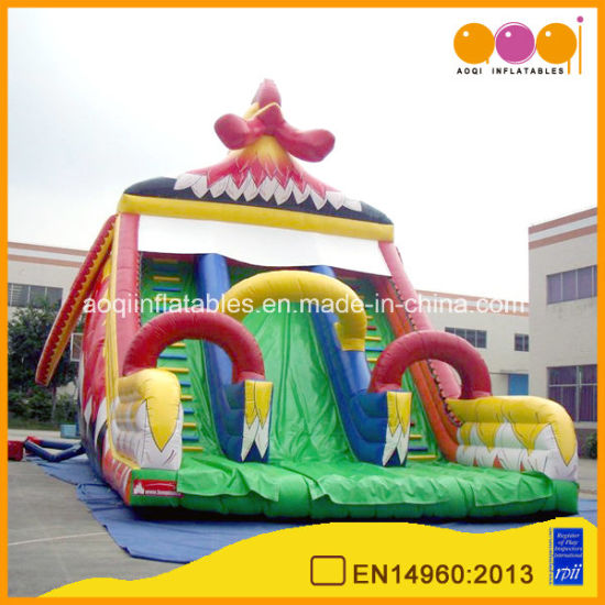 Inflatable Ocean High Slide Toy (AQ1137)