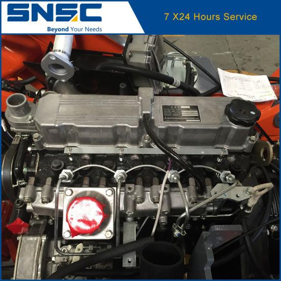 3t Japan Mitsubishi S4s Diesel Engine Forklift