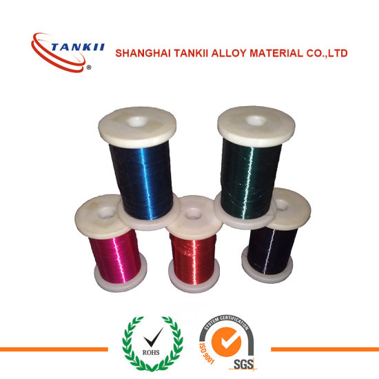 Karma Enamelled Wire Dia 0.08mm Resistance Heating resistor wire pictures & photos