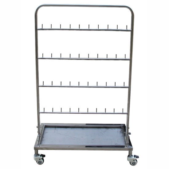 Professional Team Comfortable Stainless Steel Medical Trolley pictures & photos