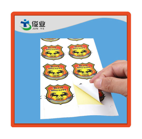 Adhesive Sticker/Customized Label in Sheet