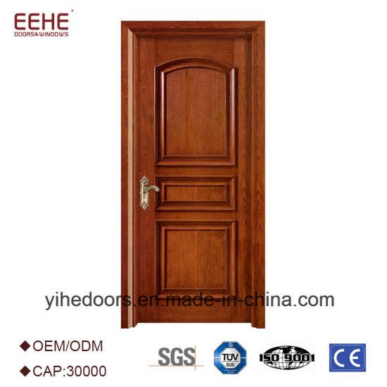 New Wooden Door Polish Design Mdf Wood Door China Wood Panel Door