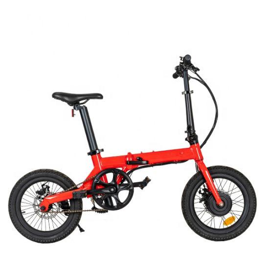 out Door Sports Wholesale Light Weight 36V 7ah Mini Folding Bike