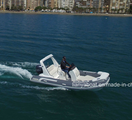 China Liya 5.2m Luxury Rigid Yacht Semi-Rigid Inflatable Boat