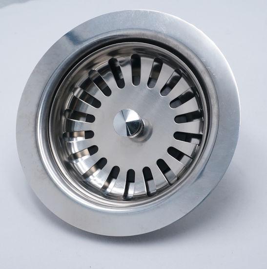 China Metal Sink Strainer Spanish Style Kitchen Sink Basket Strainer ...