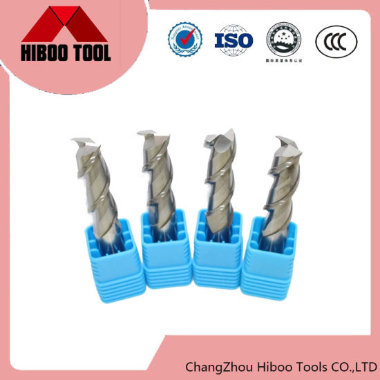 2 Flutes Solid Carbide Square End Mill Aluminun Milling Cutter