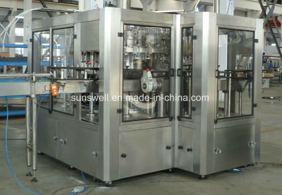 2 in 1 Glass Bottle Beer Filling Capping Machine pictures & photos