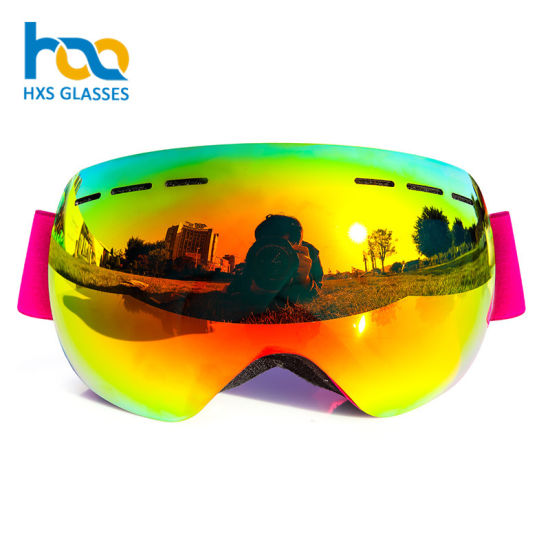 bead4a2cb60b China Factory Price Double Lens Anti-Fog Snow Ski Goggles - China ...