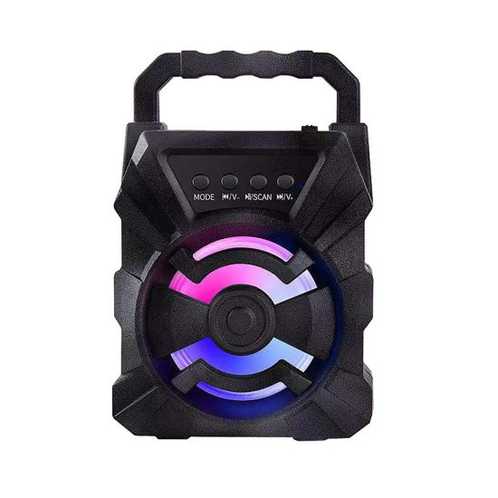 New Product Portable Bluetooth Speaker Outdoor Camping Wireless Bluetooth Audio Sound Box with USB Charging TF Card